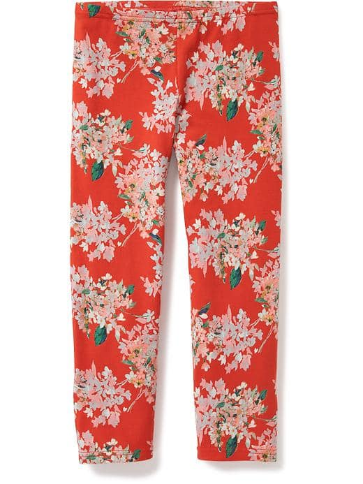 Girl's Printed leggings(05)
