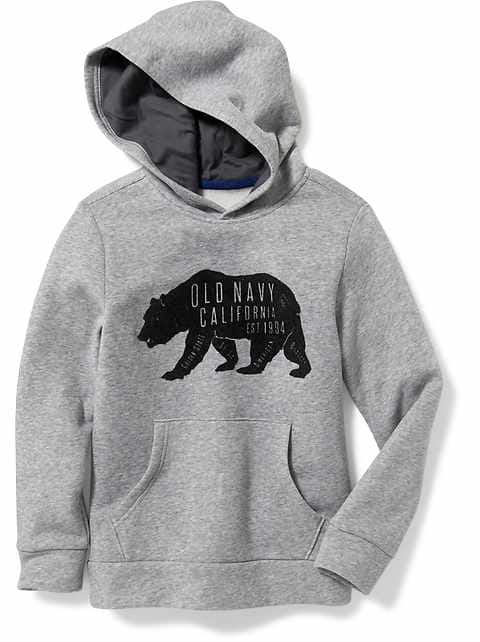 Boy's Fleece Hoodies(02)